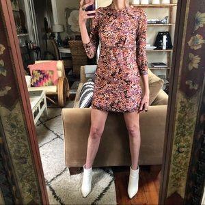 Vintage homemade 60s mod dress